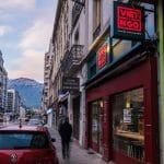 rénovation restaurant asiatique devanture magasin Grenoble