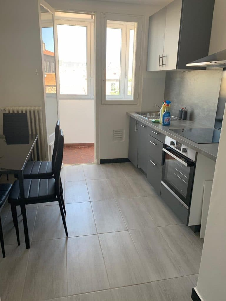Rénovation d'un appartement destiné à la location à Saint-Etienne (42)