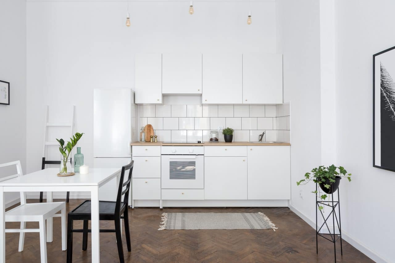 Lille rénovation appartement cuisine
