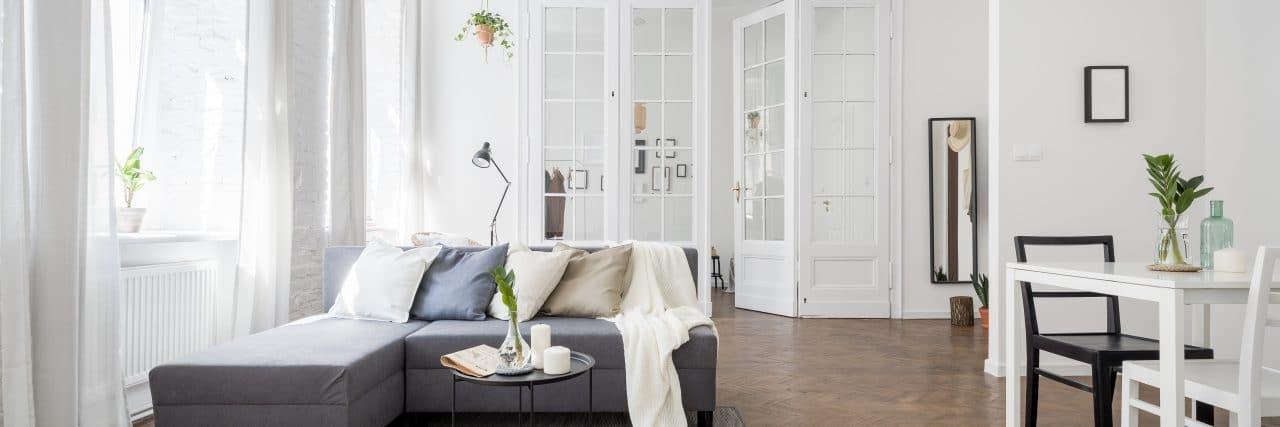rénovation appartement à Lille séjour