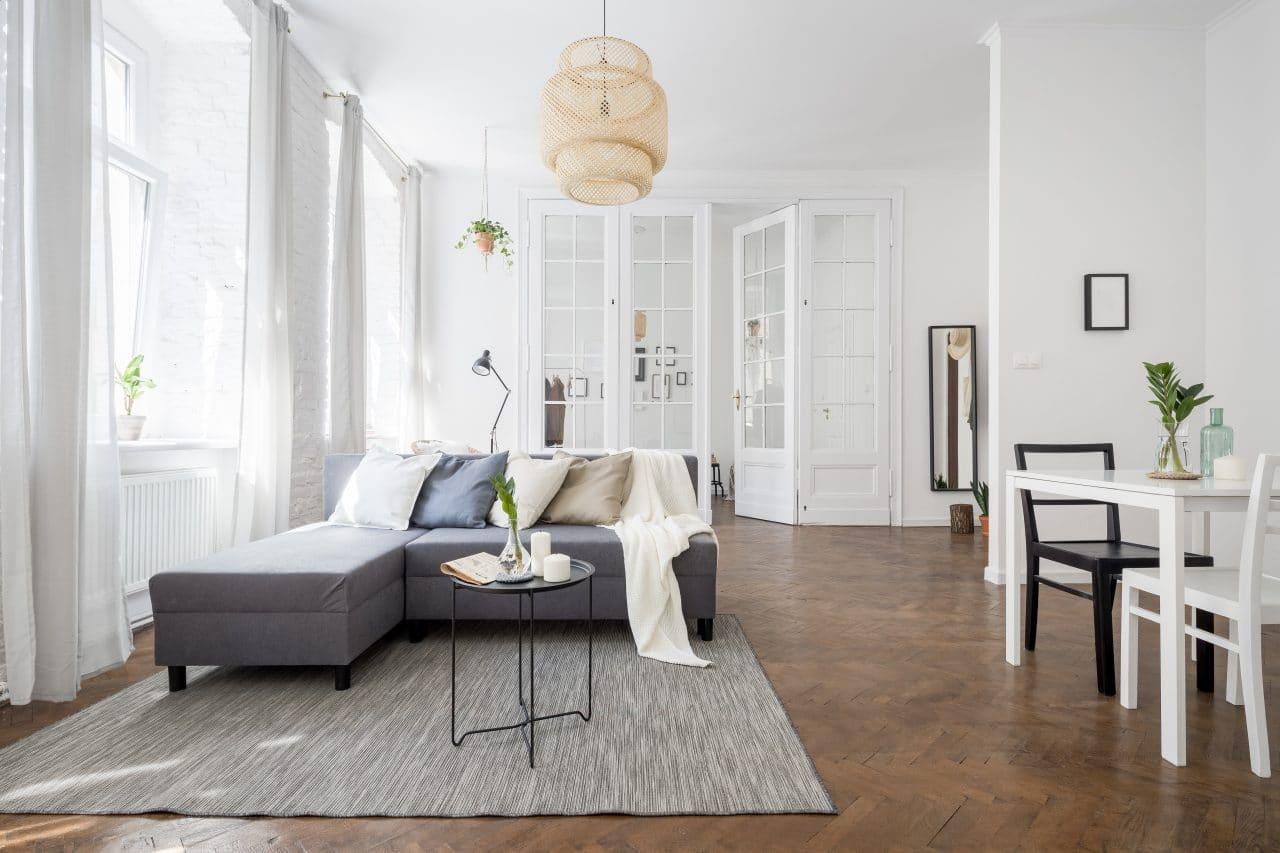 rénovation d'appartement à Lille séjour
