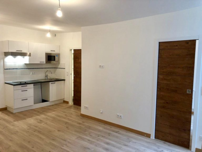 Avant/après d'une modernisation d'appartement à Paris 6ème
