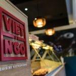 rénovation restaurant asiatique identité visuelle faux plafond Grenoble