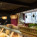 rénovation restaurant asiatique luminaire vitrine réfrigérée Grenoble