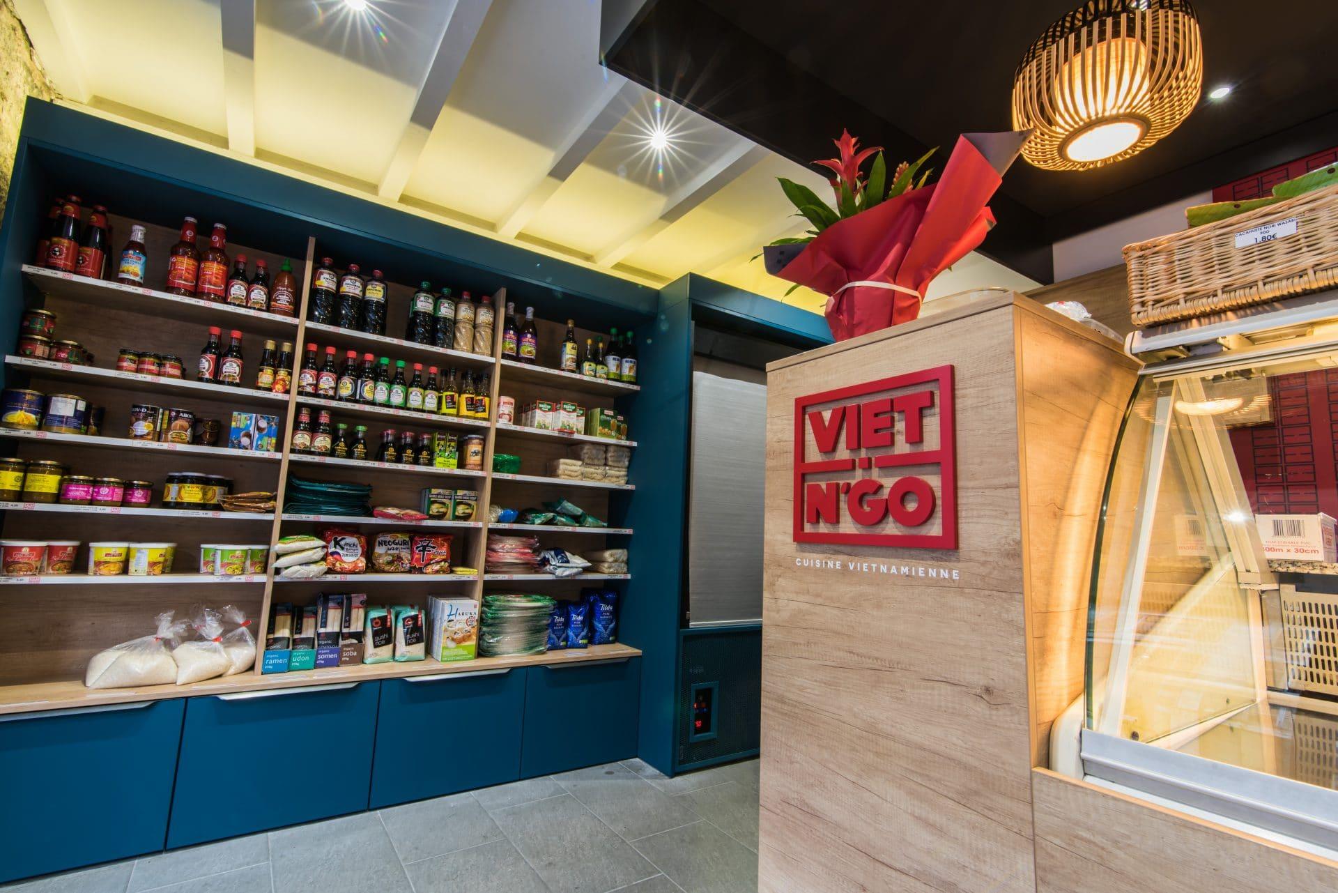 Rénovation d'un restaurant asiatique à Grenoble (38)