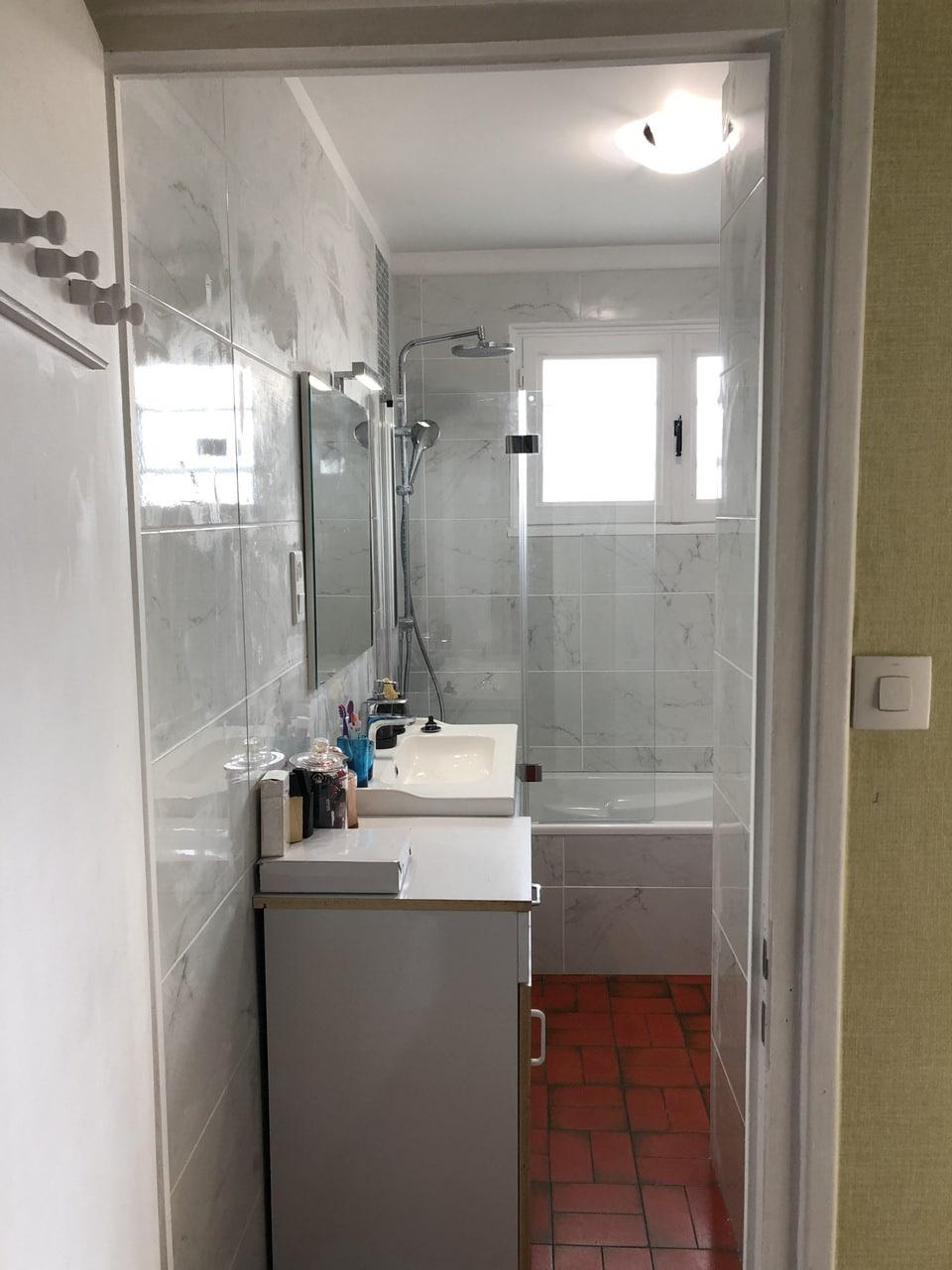 Rénovation d'une salle de bain à Décines-Charpieu (69)