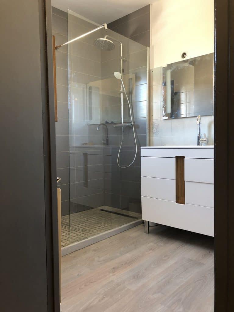 Rénovation d'une salle de bain à Décines (69)
