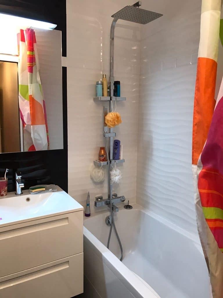 Réfection d'une salle de bain à Orsay (91)