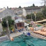 rénovation toiture pose tuiles volige de liteau toit Saint-Hilaire-la-Palud