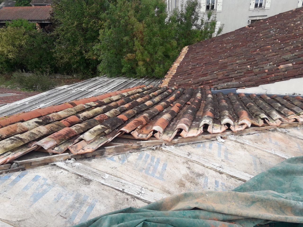 rénovation toiture avant travaux Saint-Hilaire-la-Palud
