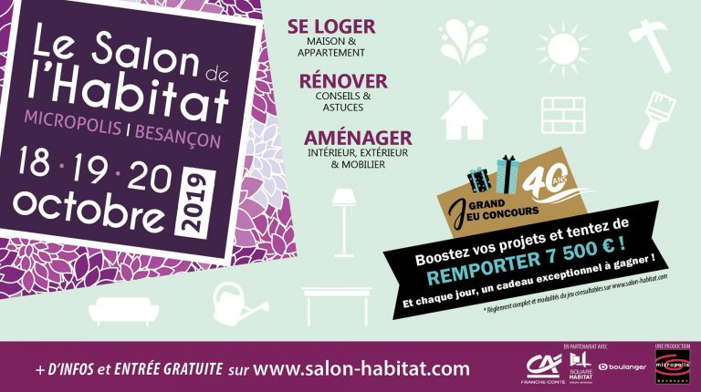 Retrouvez Yves Oqda au Salon de l'Habitat à Besançon