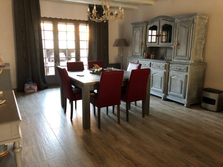 Rafraîchissement d'un salon à Annay-sous-Lens (62)