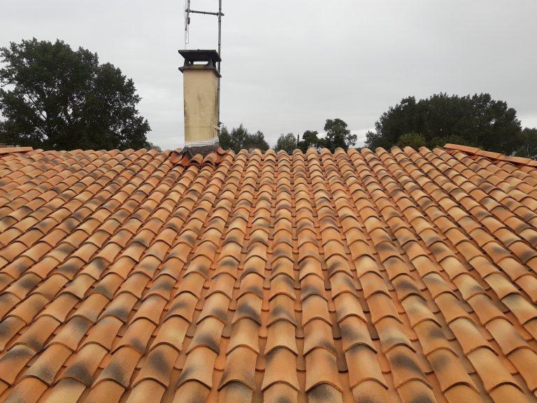 Rénovation d'une toiture à Saint-Hilaire-la-Palud (79)