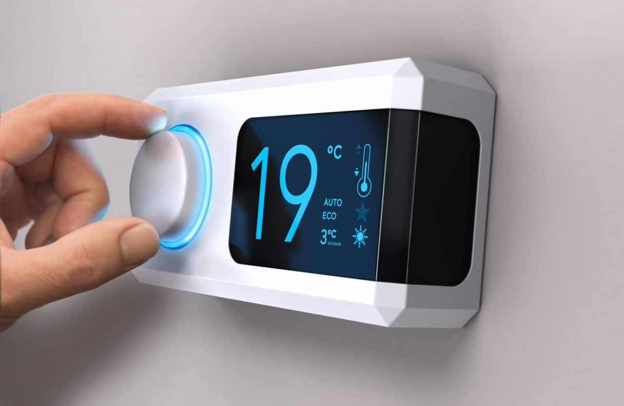 thermostat de régulation de chauffage