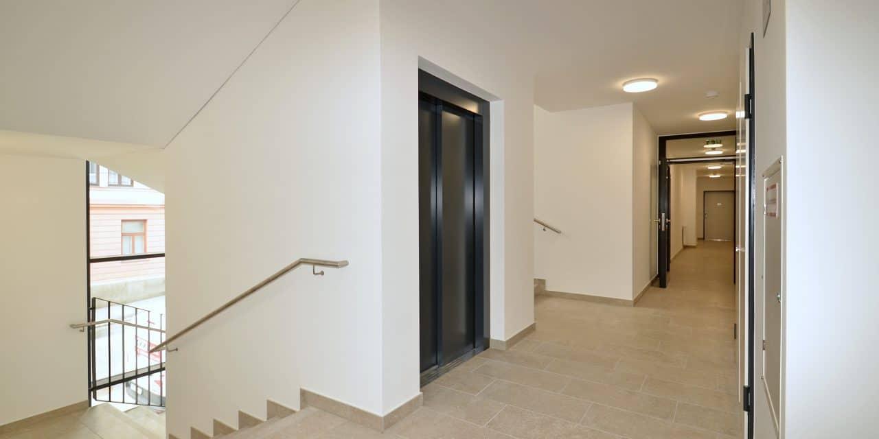 rénovation escalier ascenceur copropriété