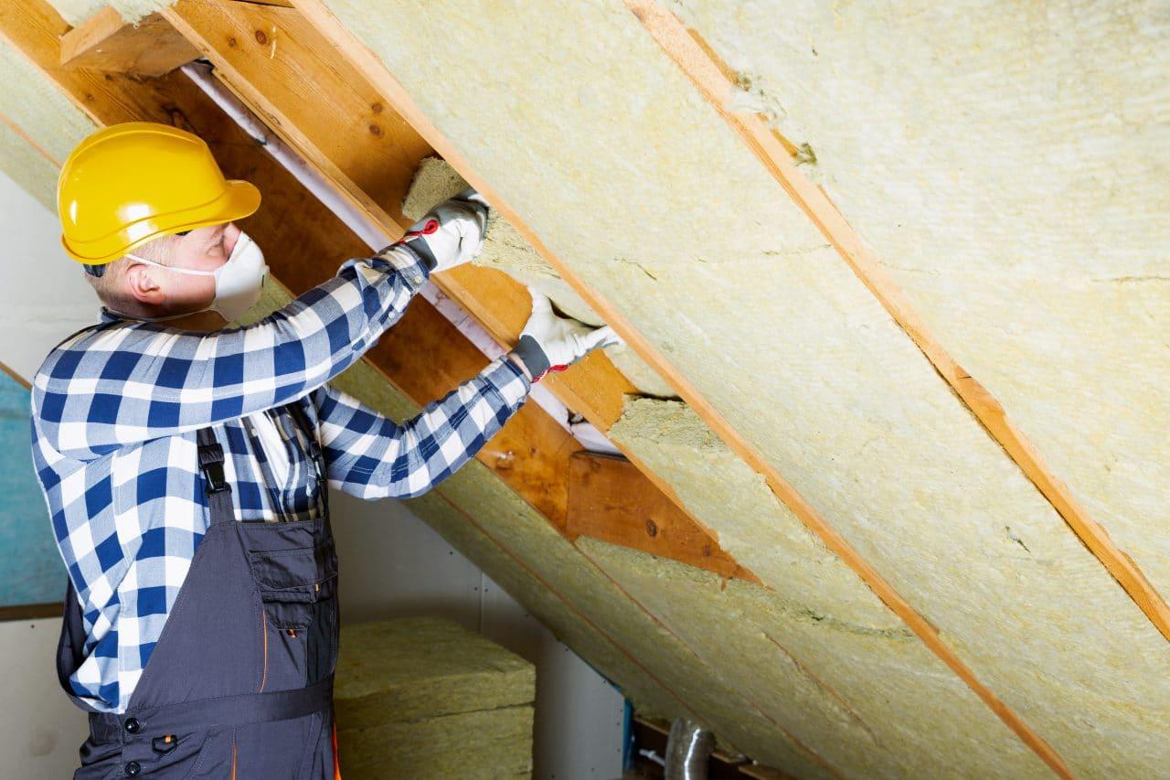 isolation toiture laine de verre