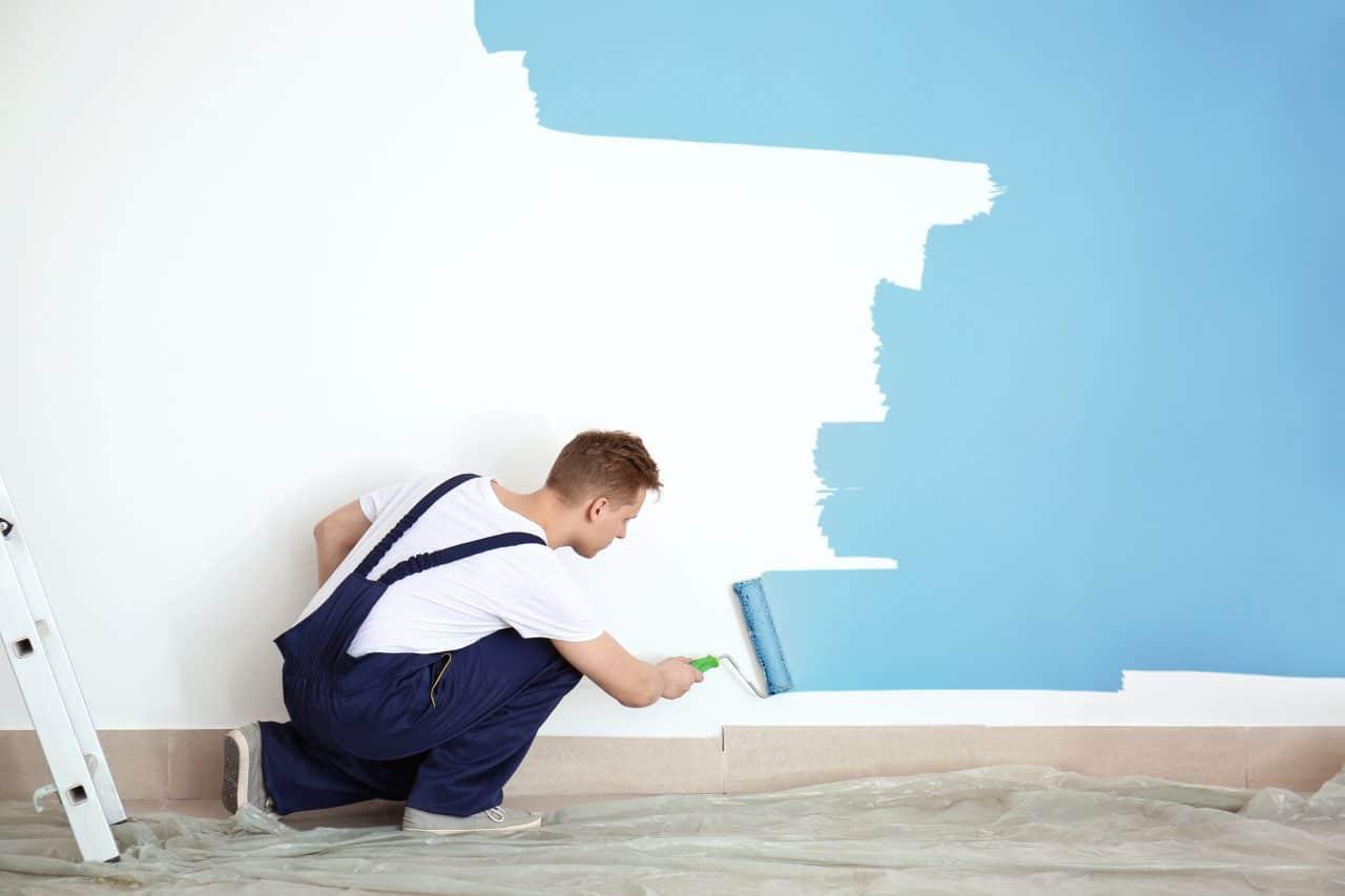 peintre rénovation mur