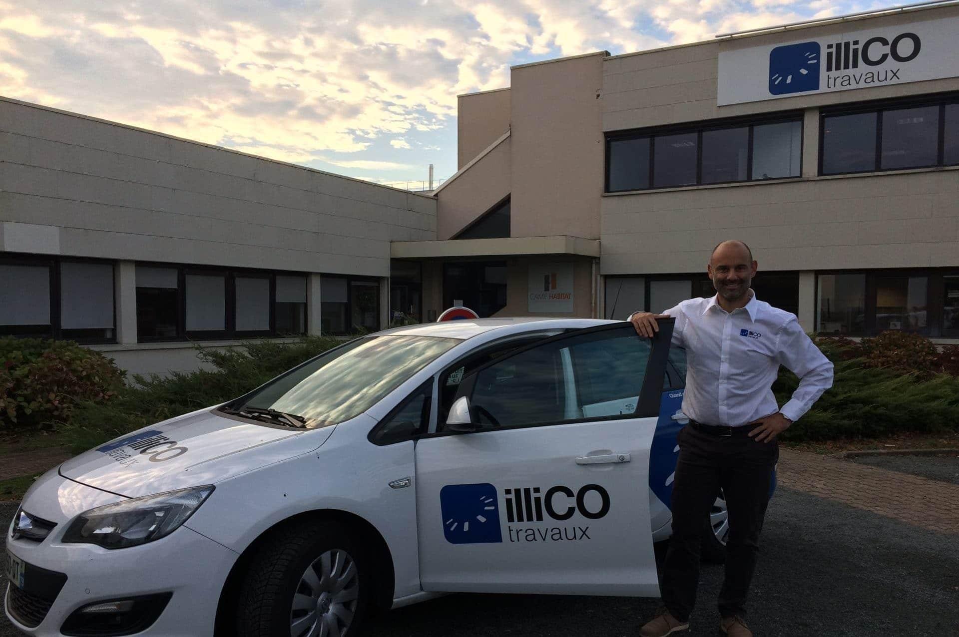 Témoignage vidéo de Cédric BAUM, responsable de l'agence illiCO travaux Grenoble
