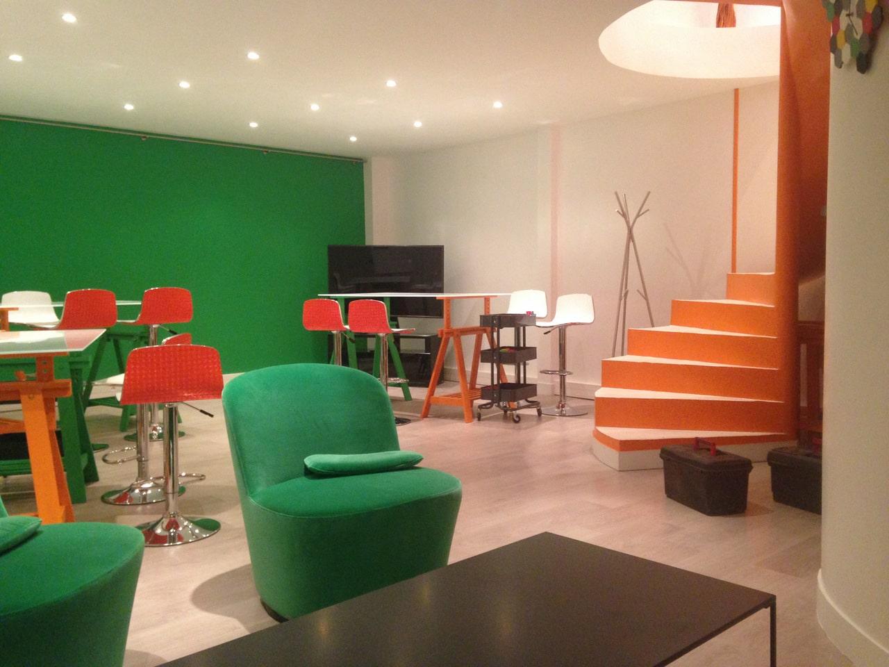 Création d'un espace de co-working à Courbevoie (92)