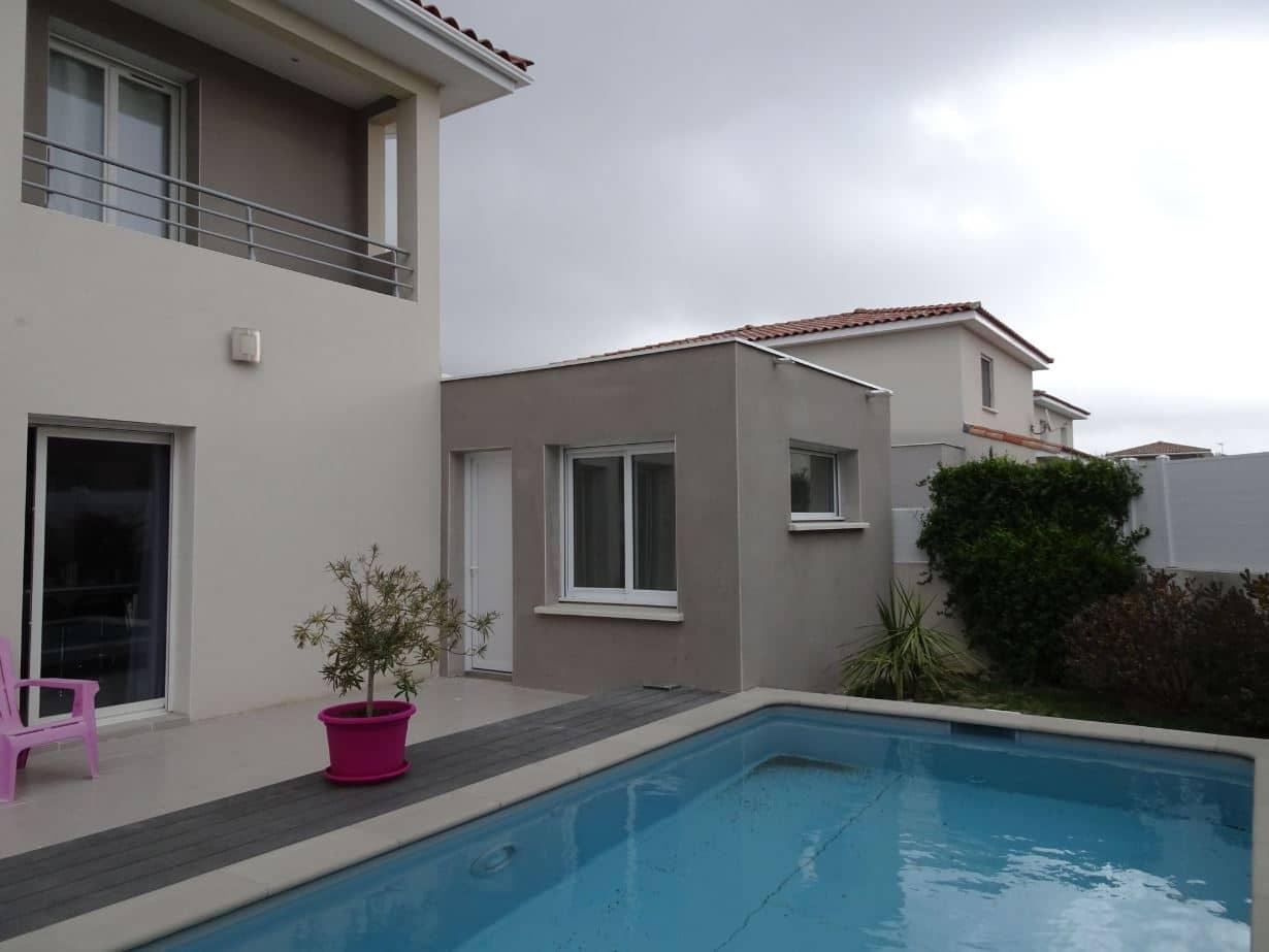 extension de maison à Montpellier agrandissement en L