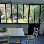 extension d'une maison à Nantes : salleà manger avec verrière