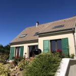 Ravalement de façade à Thorigny-sur-Marne : vue générale de la maison