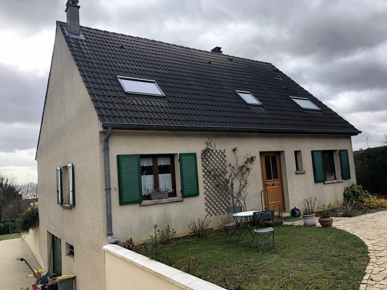 Ravalement de façade à Thorigny-sur-Marne : avant travaux