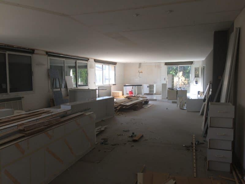 Avant les travaux de rénovation