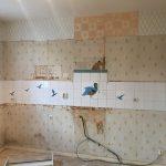 Rénovation de cuisine à Joué-Lès-Tours : cuisine en cours de travaux