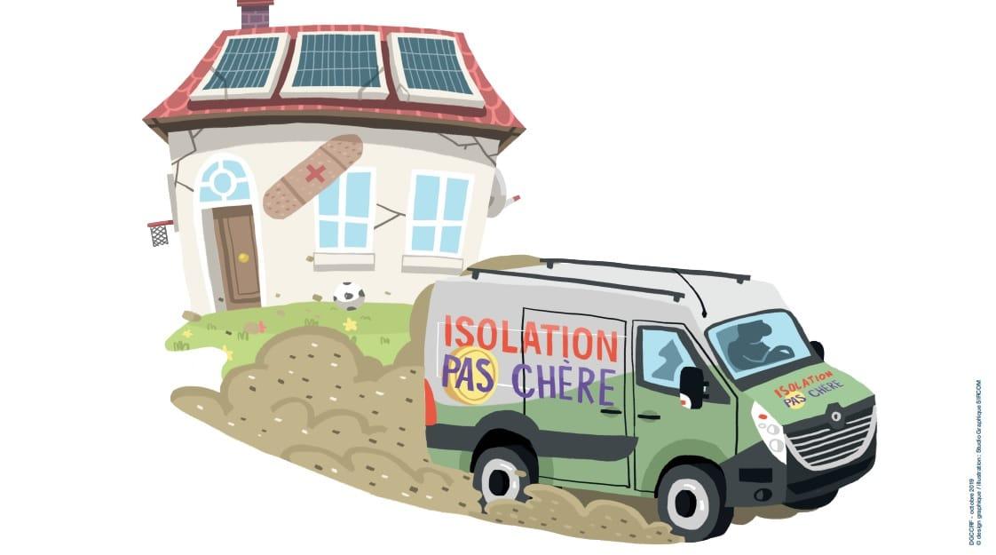 Lutte contre la fraude en matière de rénovation énergétique