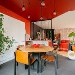 rénovation loft Niort cuisine + verrière intérieure