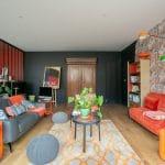 rénovation loft Niort séjour