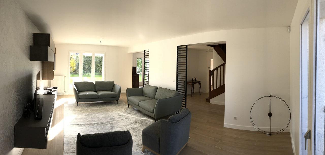 Rénovation partielle de maison à Bussy-Saint-Georges (77)