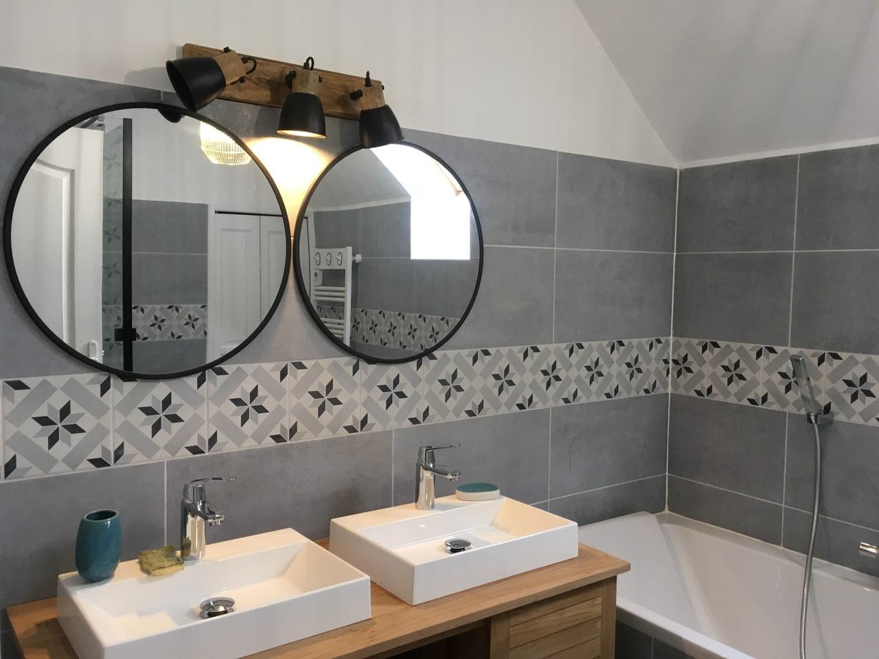 Rénovation d'une salle de bain à Montesson (78)