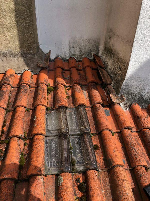 Avant - rénovation de toiture