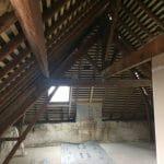 rénovation toiture charpente fenêtre de toit Benet