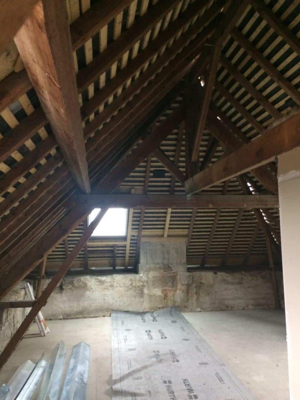 Rénovation d'une toiture en ardoise à Benet (85)