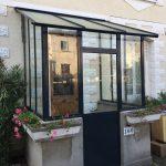 Remplacement marquise verrière d'extérieur style atelier Vaires-sur-Marne