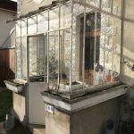 Remplacement marquise verrière avant travaux Vaires-sur-Marne