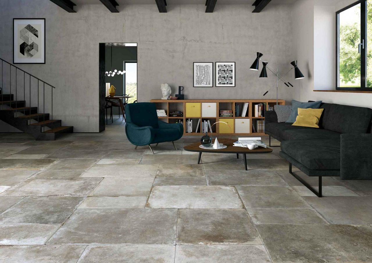sol carrelage pierres naturelles maison ancienne rénovation