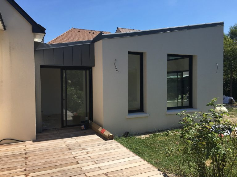 Extension de maison à Marly-le-Roi (78)