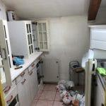 rénovation appartement sous combles à Lyon : cuisine avant travaux
