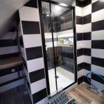 rénovation salle de bain près de Strasbourg : douche après rénovation