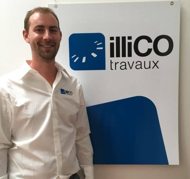Témoignage vidéo de Mathieu LARRIERE, responsable de l'agence illiCO travaux Dijon