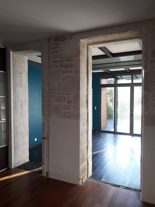 Avant/après d'une réfection de maison à Niort (79)
