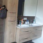 rénovation intérieure d'une maison à Clisson (44) : salle de bain après travaux