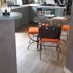 rénovation intérieure d'une maison à Clisson (44) : sol de la cuisine
