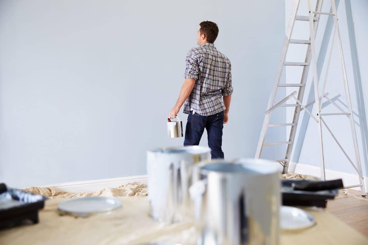 prix d'une rénovation de peinture