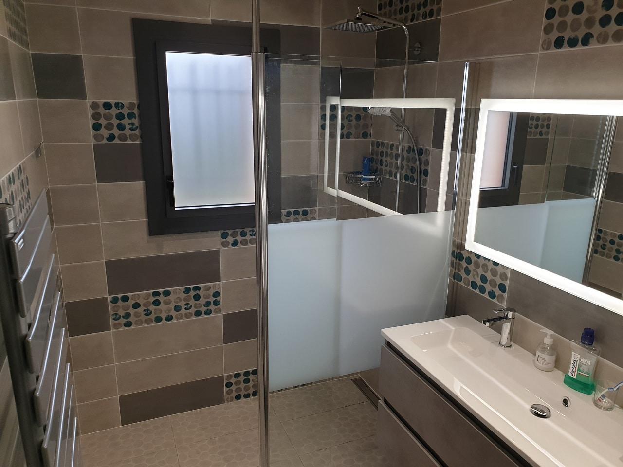 Rénovation d'une salle de bain près d'Agen (47)