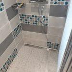 rénovation de salle de bain près d'Agen : douche à l'italienne